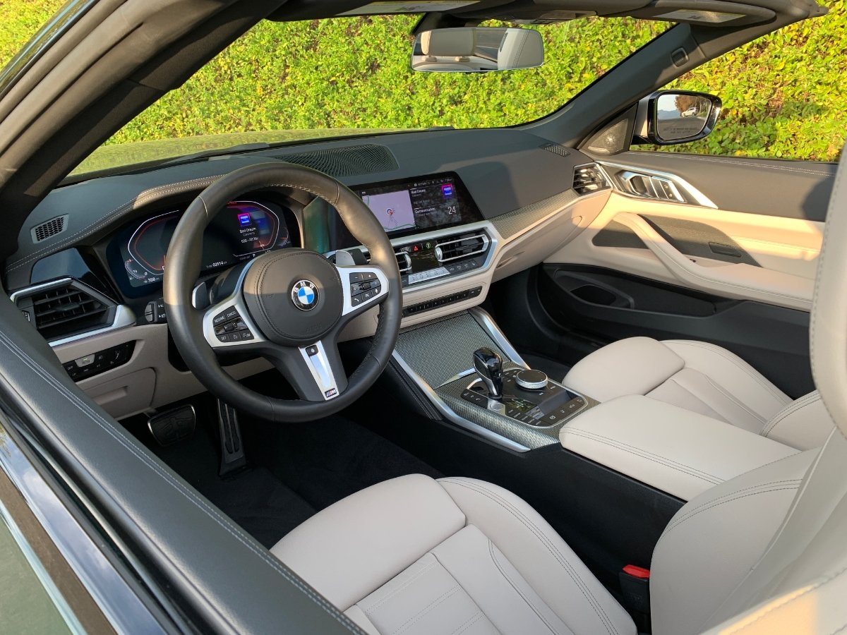 2021 BMW M440i Convertible Interior Dashboard Front Seats