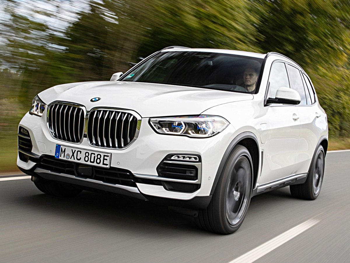 2021 BMW X5 Plug-in Hybrid In White