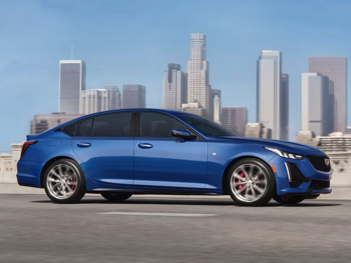 2021 Cadillac CT5 Side View