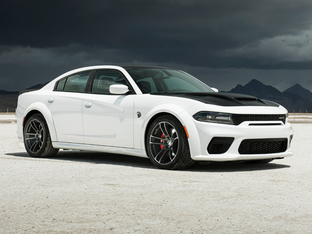 2021 Dodge Charger Front Quarter View