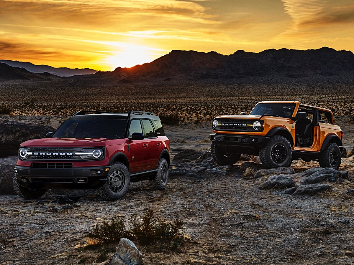 2021 Ford Bronco 2-Door and Bronco Sport Off-Road