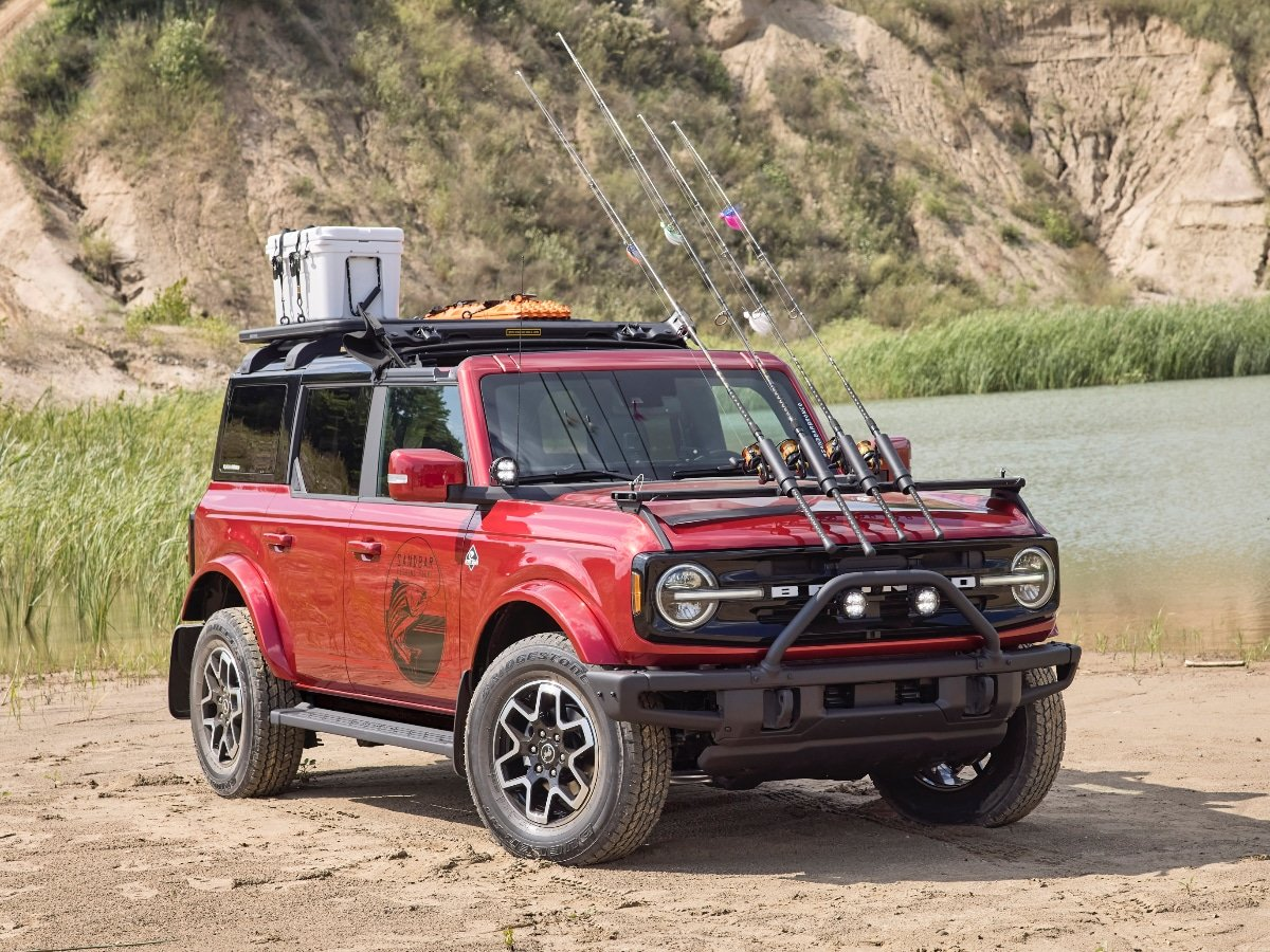 2021 Ford Bronco Outer Banks Fishing Guide Adventure Concept