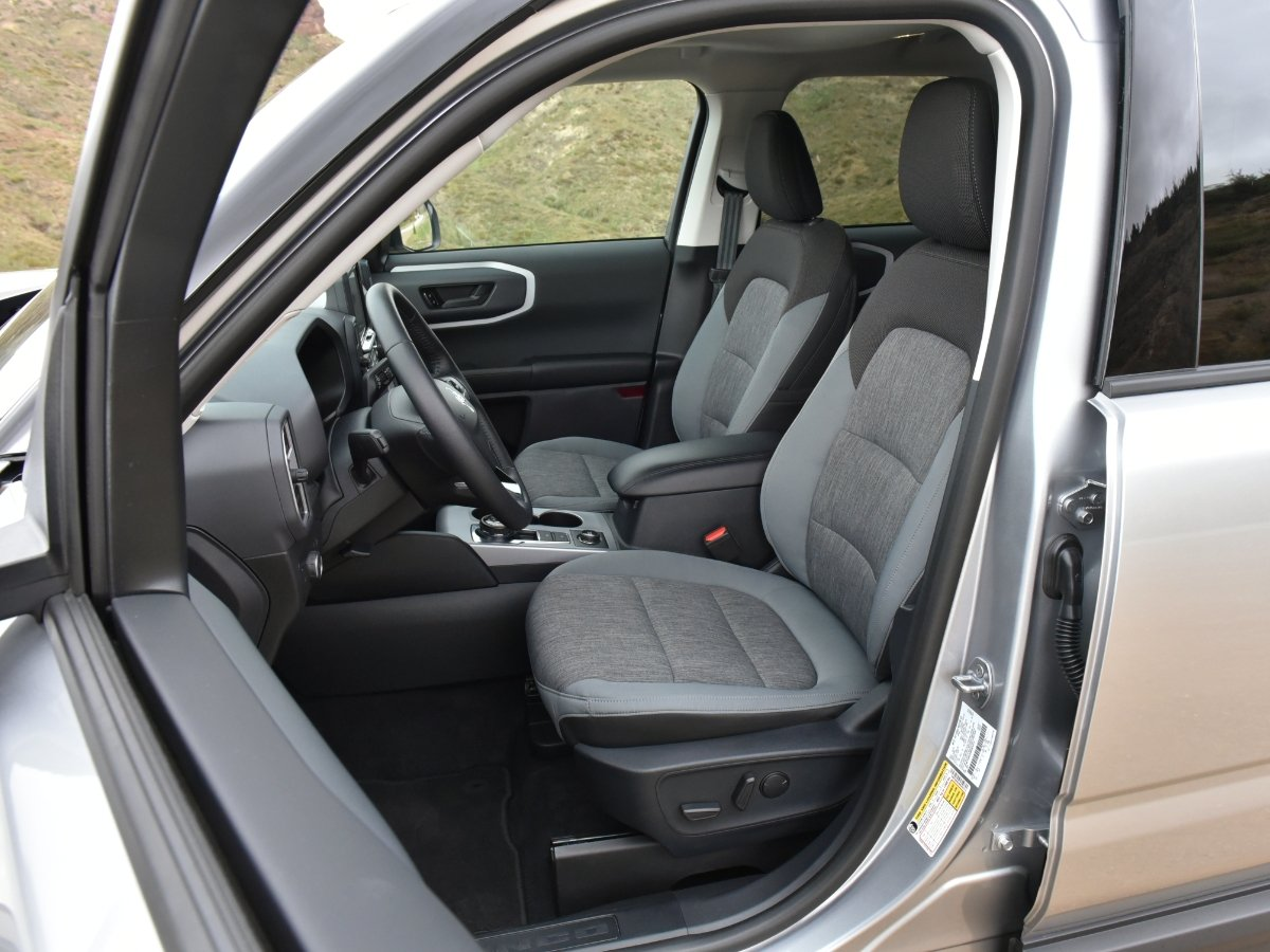 2021 Ford Bronco Sport Big Bend Front Seats