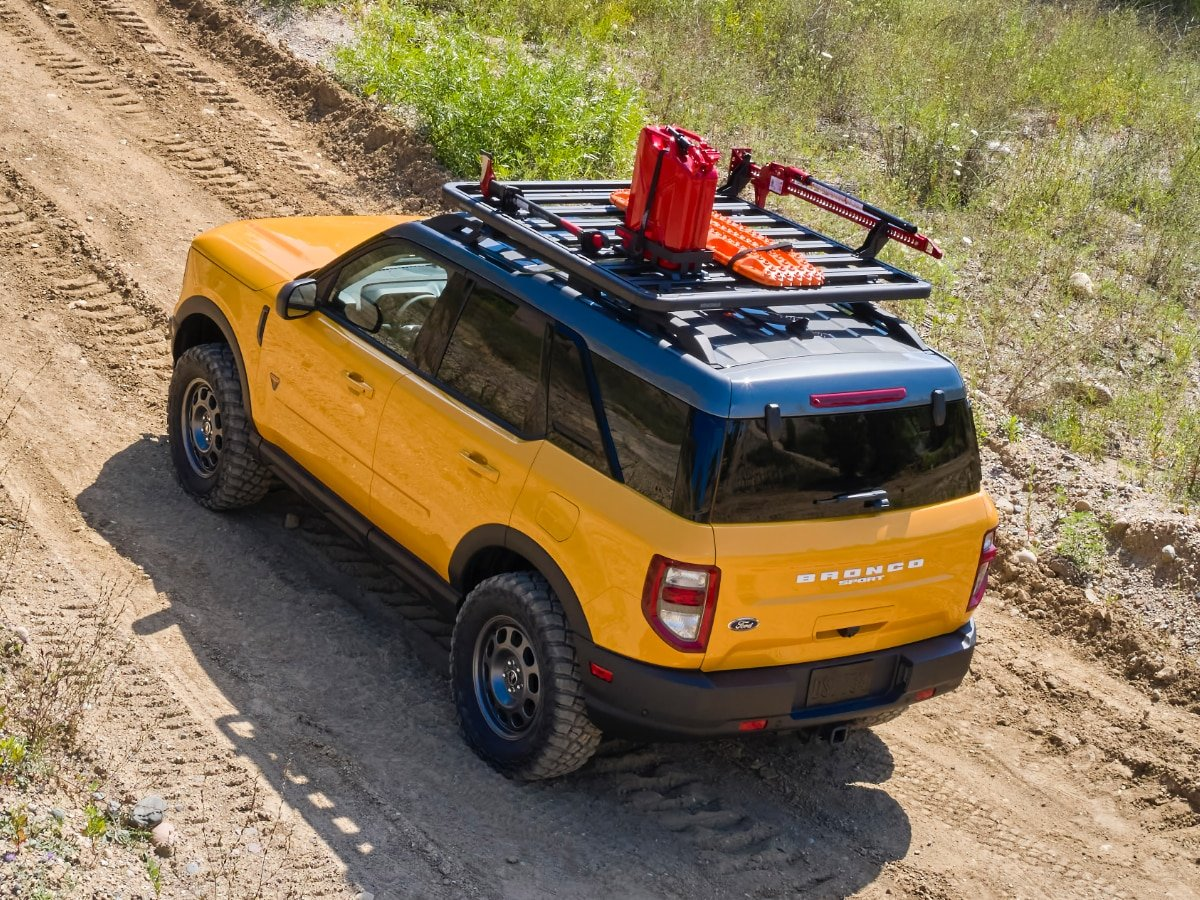 2021 Ford Bronco Sport Yellow Trail Rig Adventure Concept