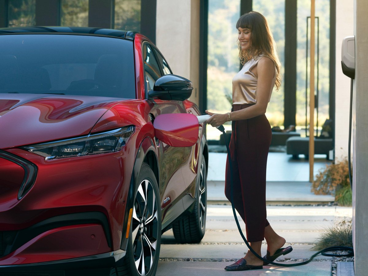 2021 Ford Mustang Mach-E Charging Times Improve