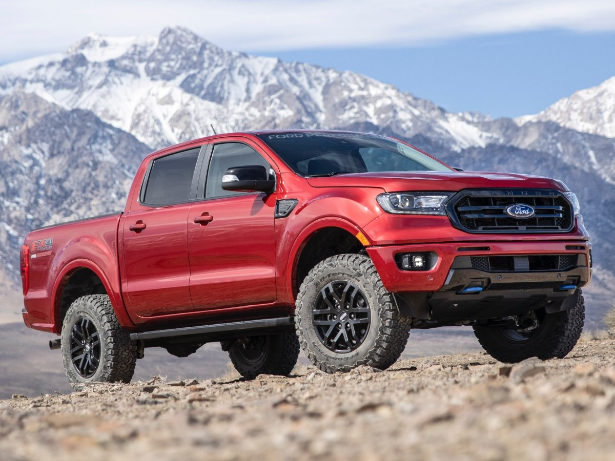 2021 Ford Ranger Performance Package Level 2 Front View