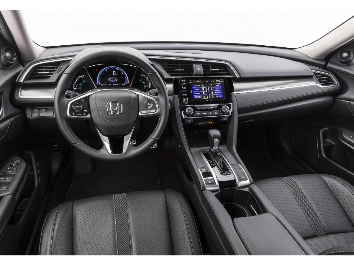 2021 Honda Civic Touring Interior Dashboard