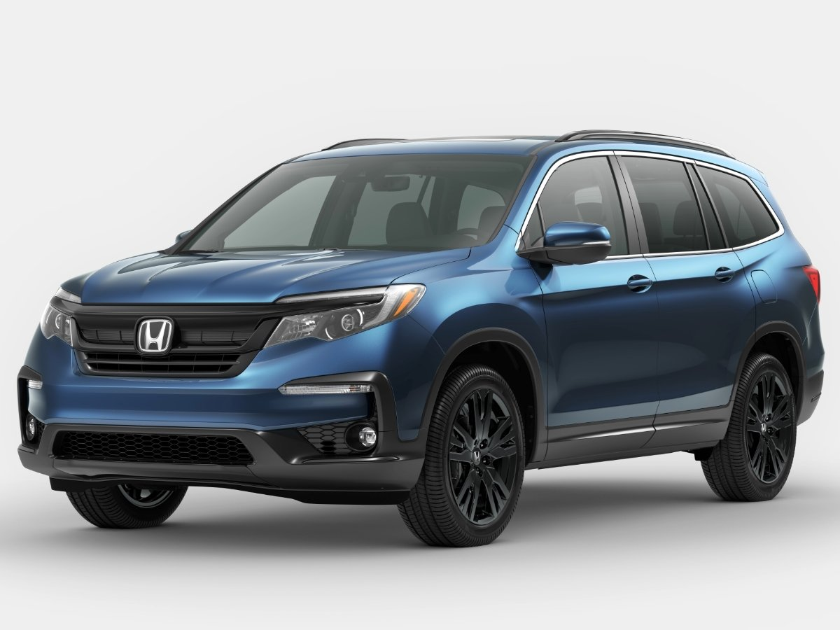 2021 Honda Pilot Special Edition Blue Front View