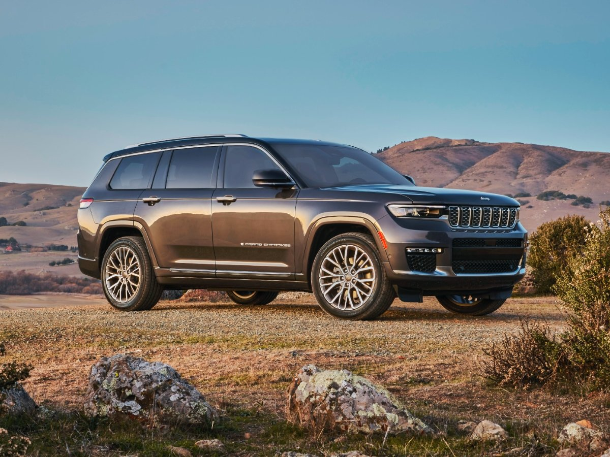 2021 Jeep Grand Cherokee L Preview
