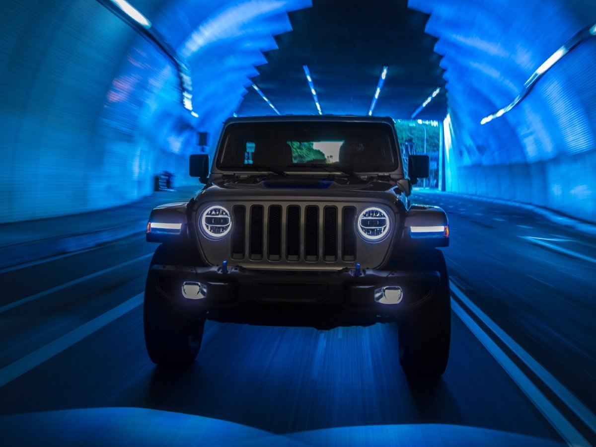 2021 Jeep Wrangler Plug-in Hybrid 4xe Front View