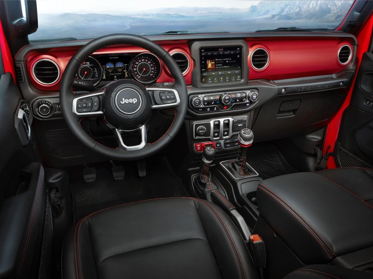 2021 Jeep Wrangler Rubicon Interior Dashboard
