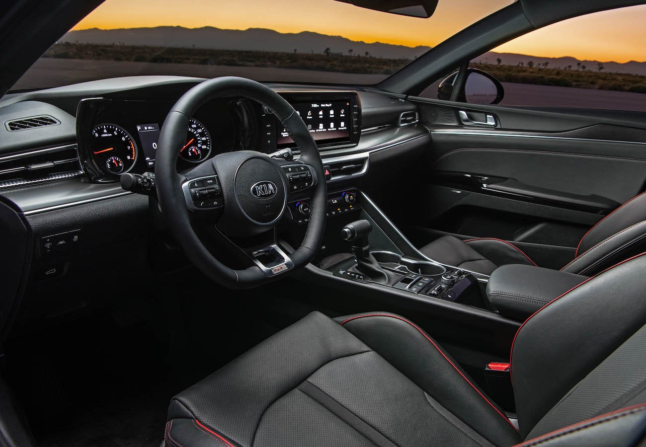 2021 Kia K5 GT Interior Dashboard