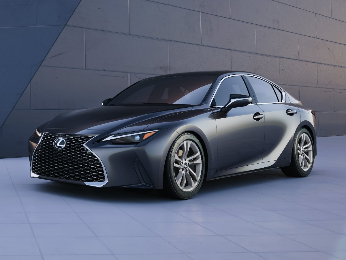 2021 Lexus IS 300 Gray Front View