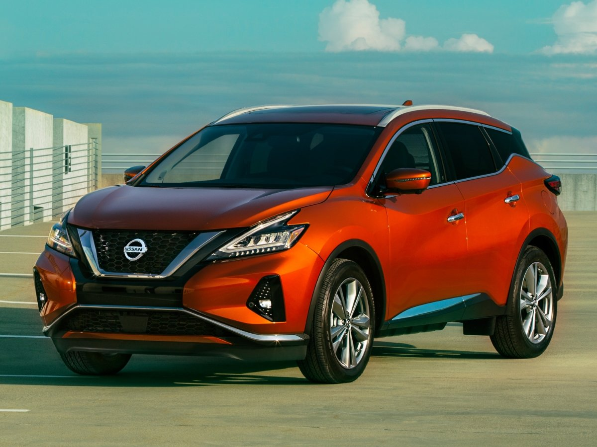 2021 Nissan Murano Front Quarter View
