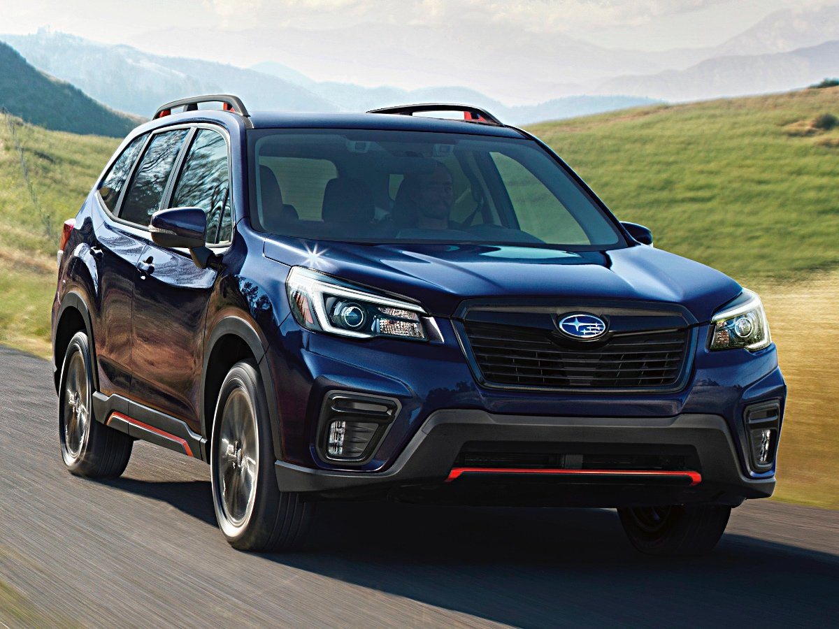 2021 Subaru Forester Sport Black Front View