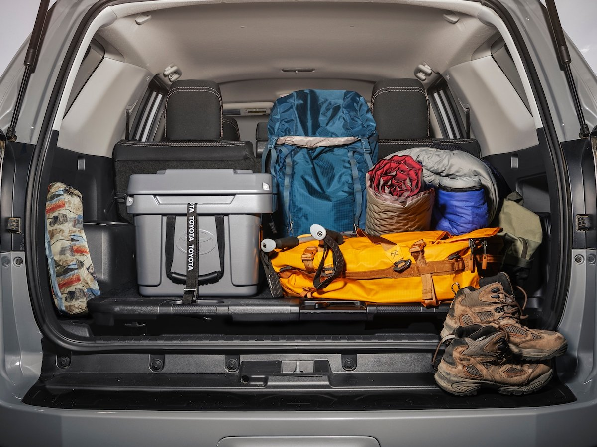 2021 Toyota 4Runner Trail Edition Cargo Area