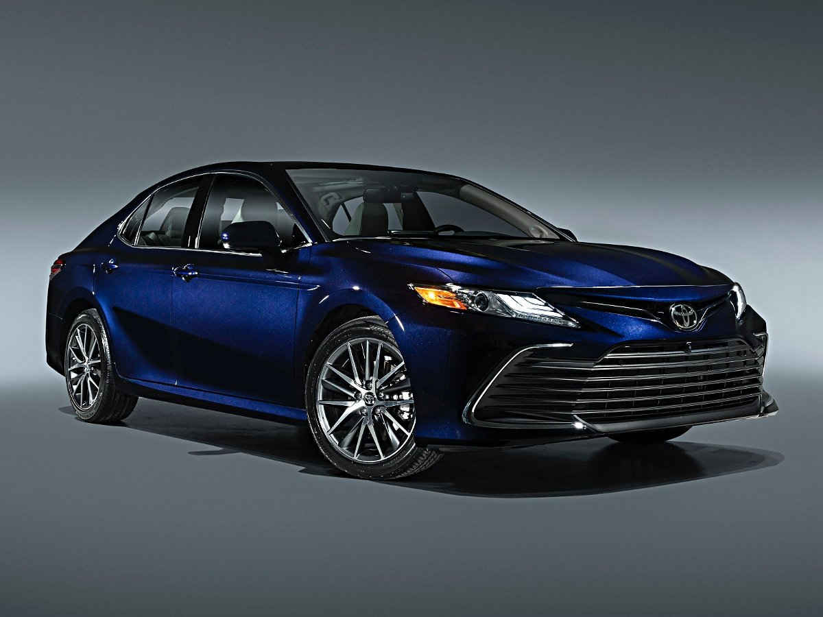 2021 Toyota Camry XLE Blueprint Front View