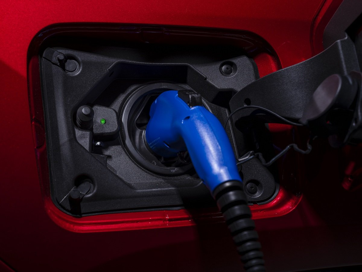 2021 Toyota RAV4 Prime Red Plugged In and Charging