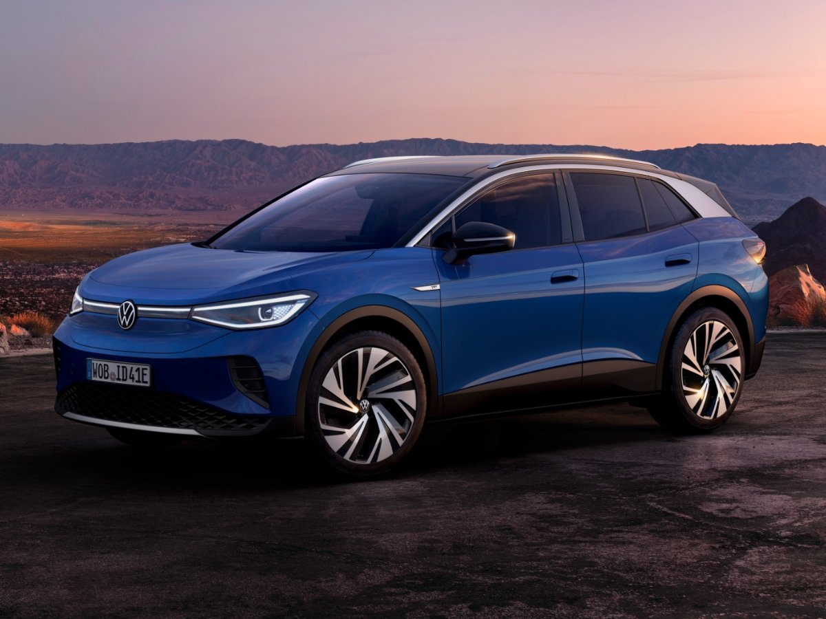 2021 Volkswagen ID.4 Preview