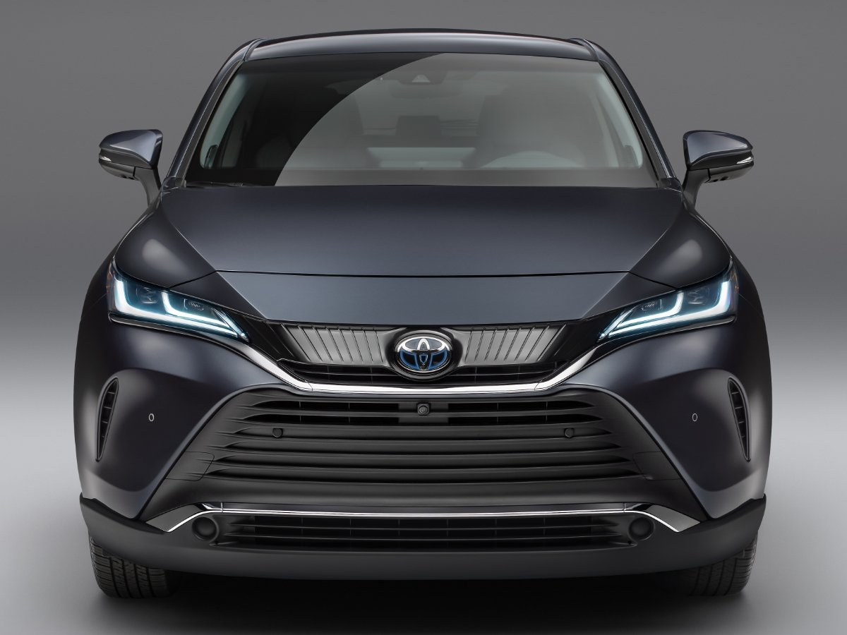 2021 Toyota Venza Gray Front View