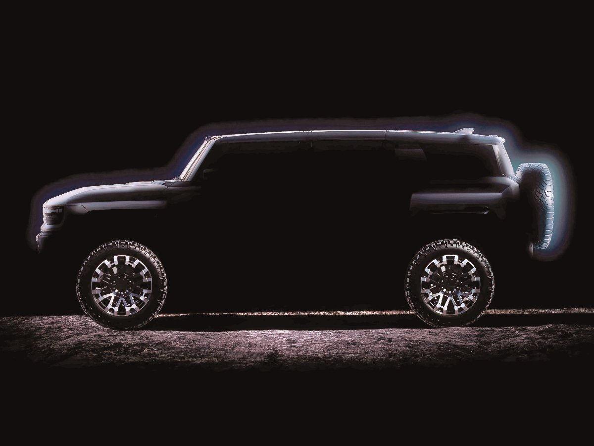 2022 GMC Hummer SUV Preview