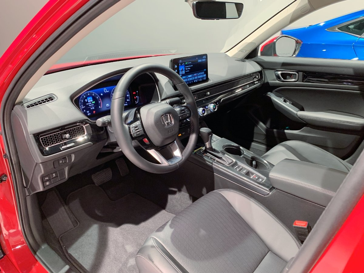 2022 Honda Civic Interior Dashboard