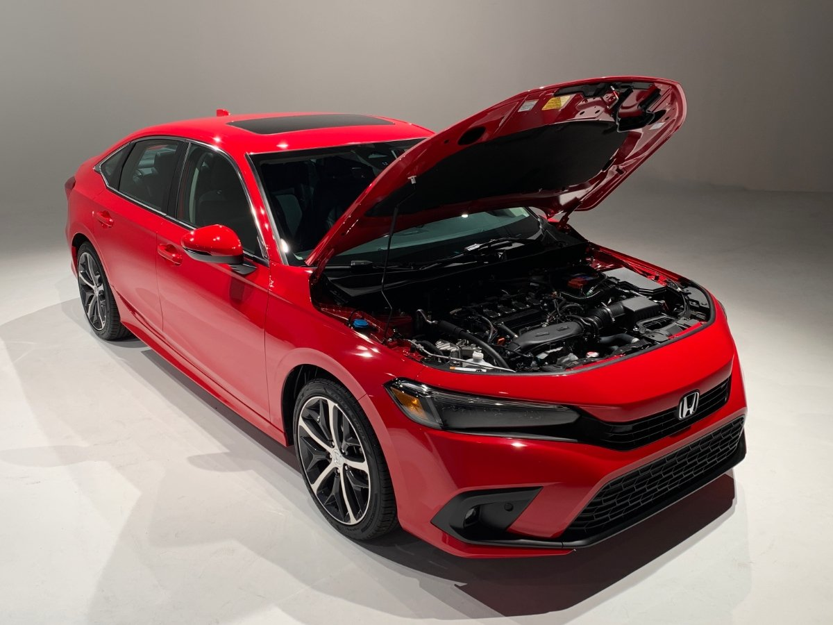 2022 Honda Civic Touring Turbocharged 1.5-liter Engine