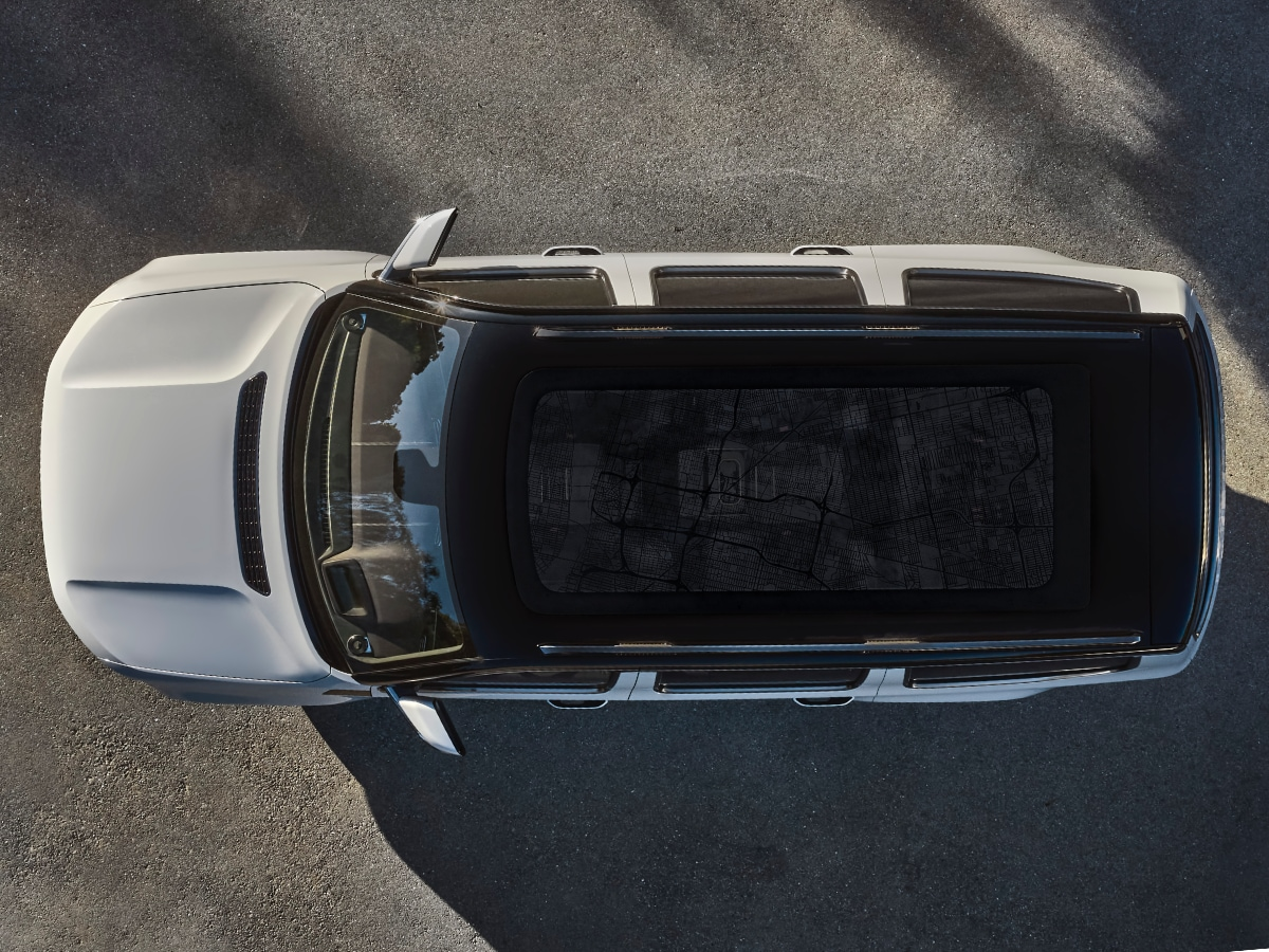 2022 Jeep Grand Wagoneer Aerial View