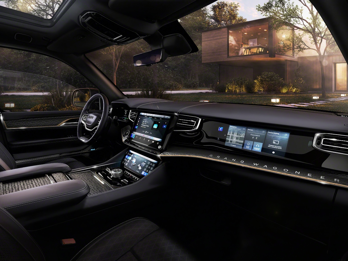 2022 Jeep Grand Wagoneer Dashboard Interior Concept