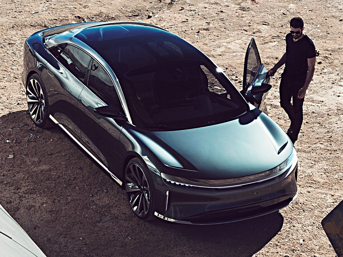 2022 Lucid Air Dream Edition Front View