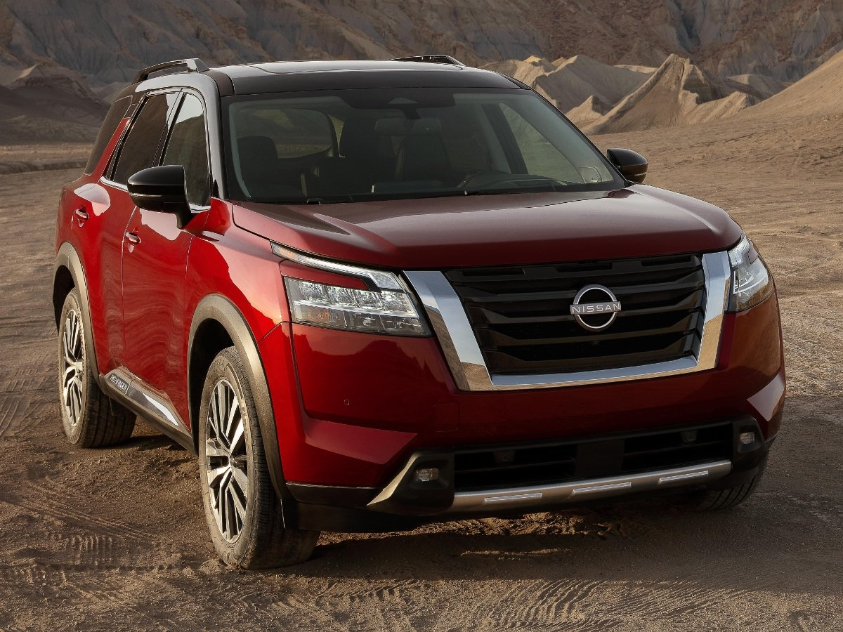 2022 Nissan Pathfinder Preview