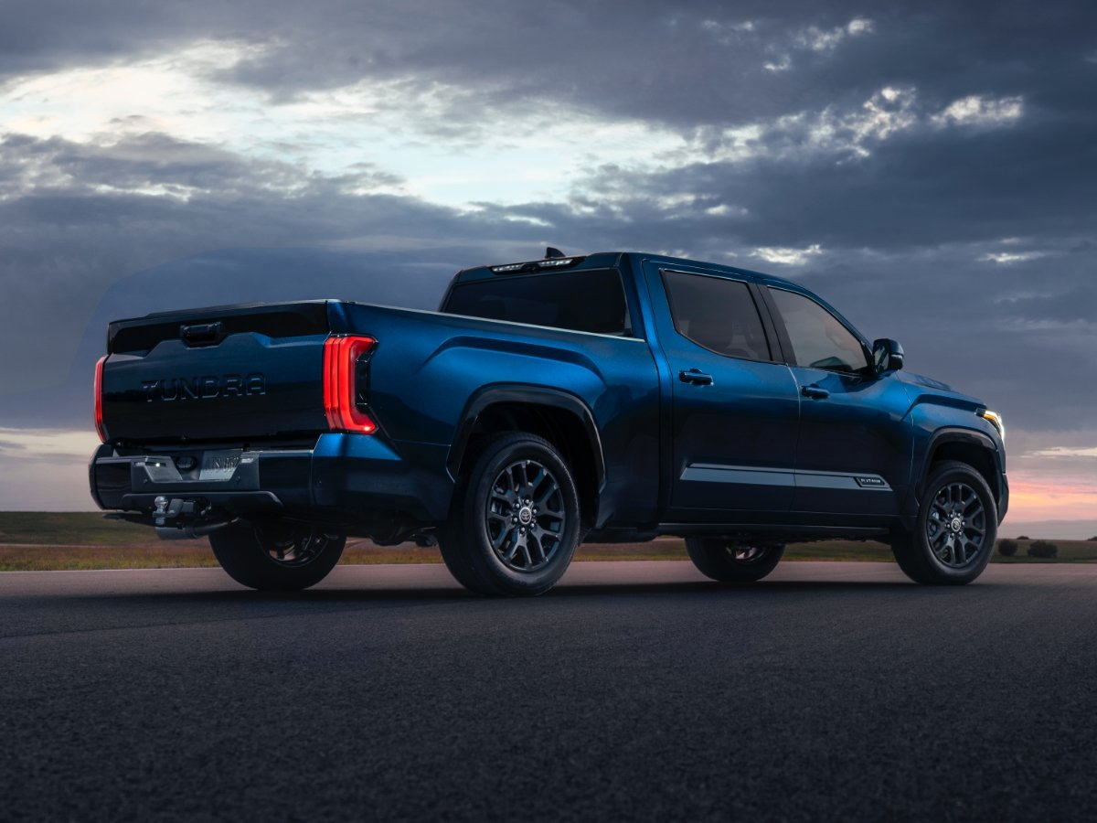 2022 Toyota Tundra Limited rear quarter view