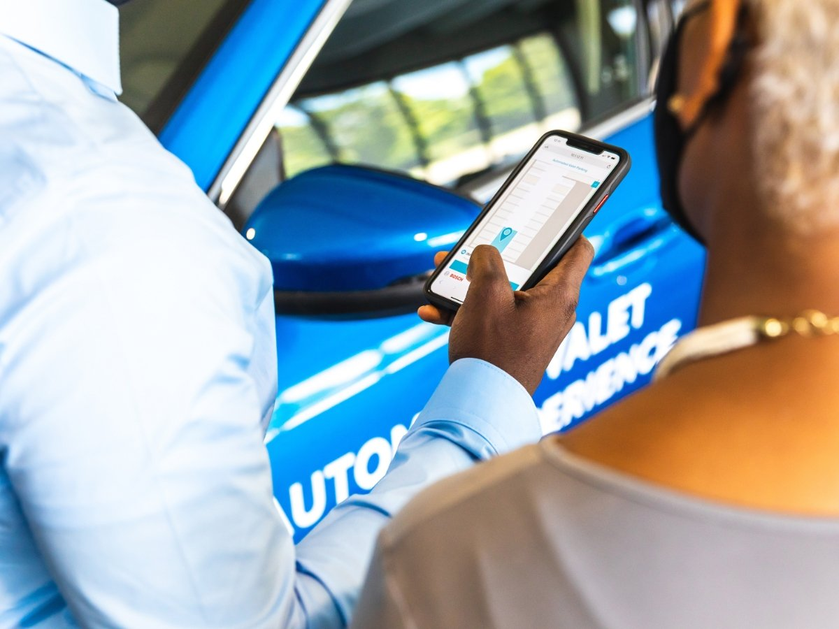 Ford Automated Valet Parking Smartphone App