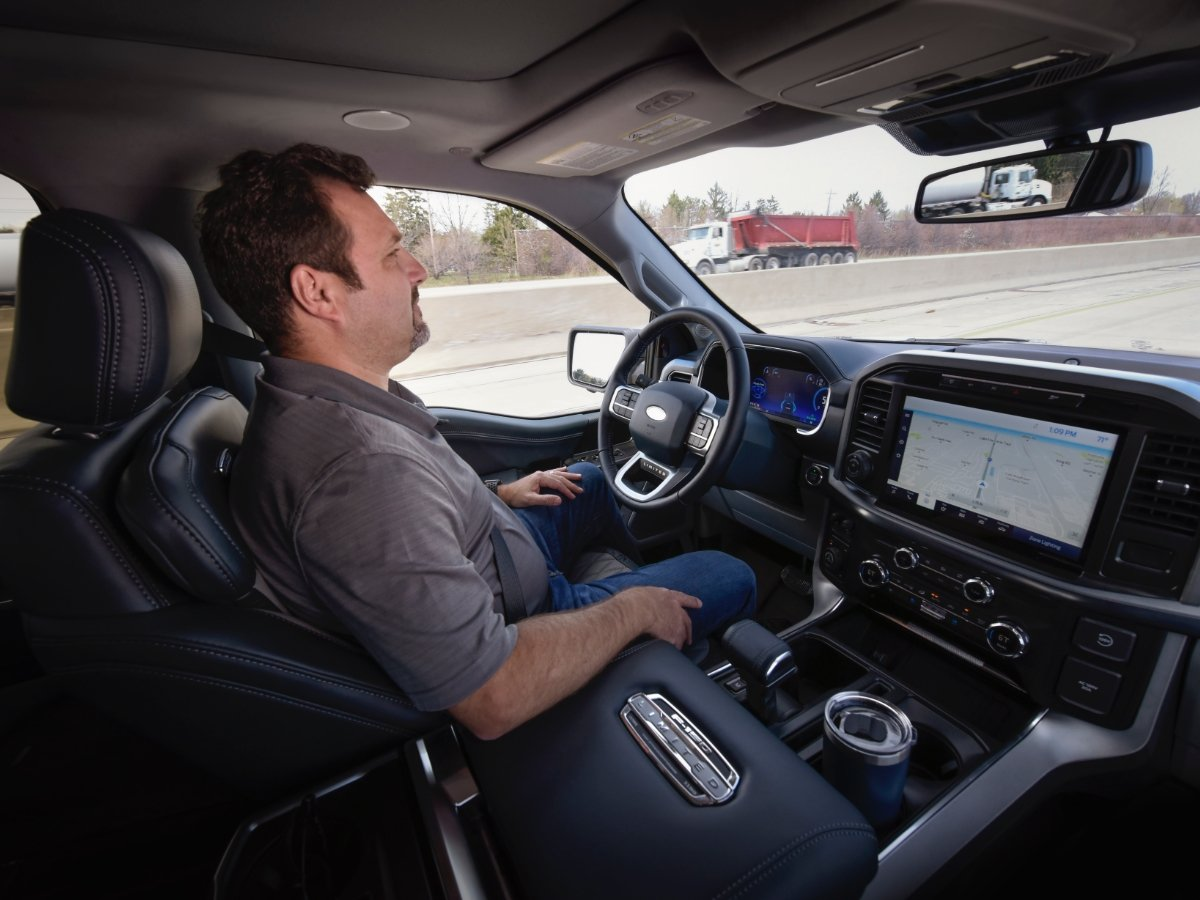 Ford BlueCruise Ford F-150 Hands Free Driving