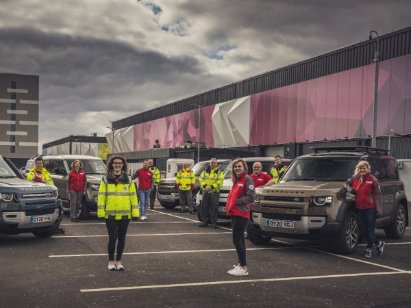 The Friday Five: The Land Rover Emergency Response, Audi WFH Wall Art, Volkswagen Basecamp Edition