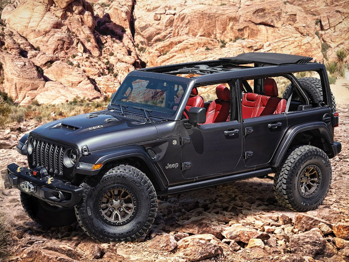 Jeep Wrangler Rubicon 392 Concept Promises Potential V 8 Performance Upgrade Automotive News J D Power