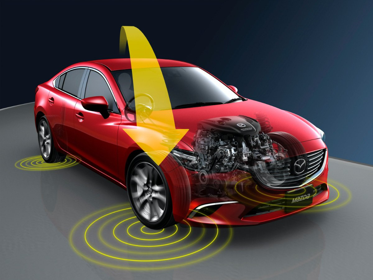 What is Mazda G-Vectoring Control Plus?