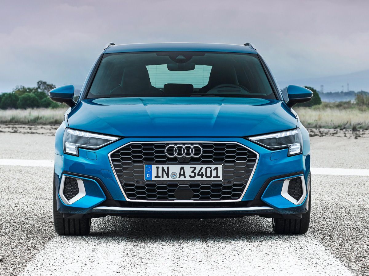 Redesigned Audi A3 Front View