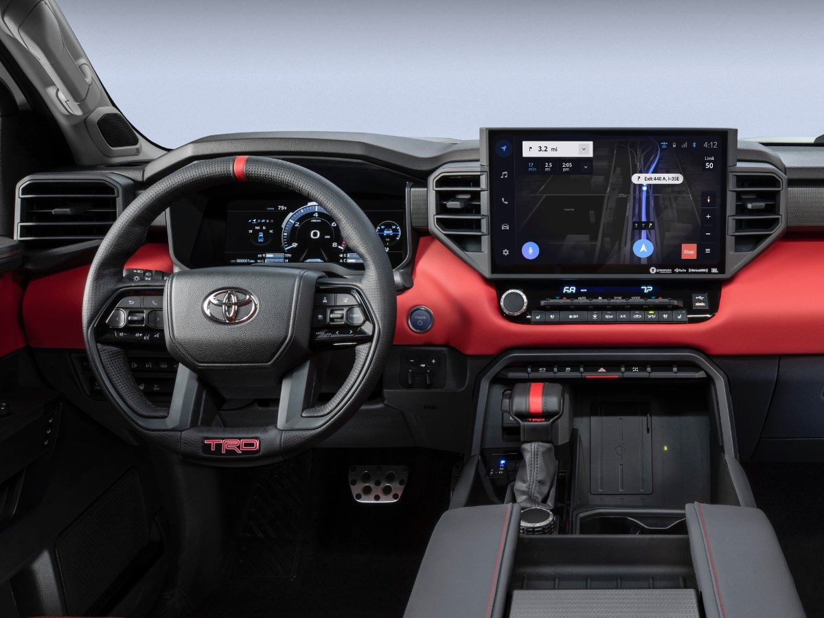 What is the Toyota Audio Multimedia Infotainment System?