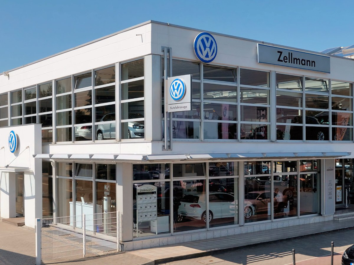 Volkswagen dealers Sign Anywhere service