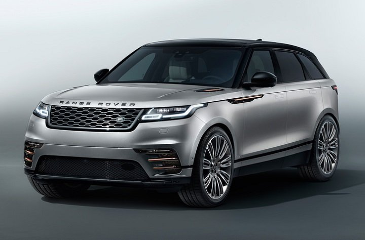 2018 Land Rover Range Rover Velar front quarter left photo