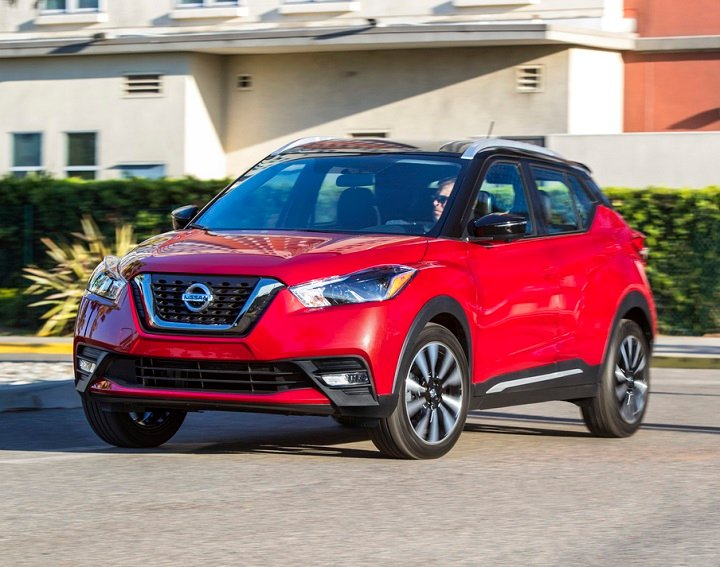 2018 Nissan Kicks front quarter left photo