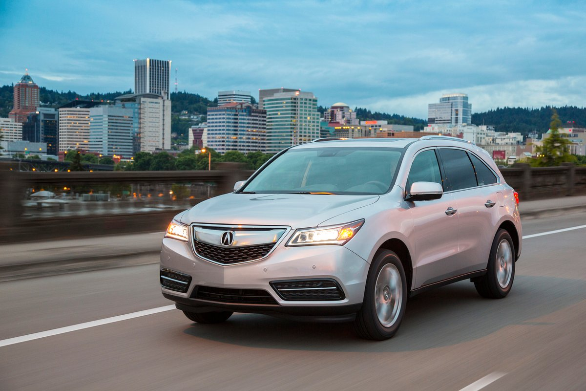 2016 Acura Mdx Preview Nadaguides