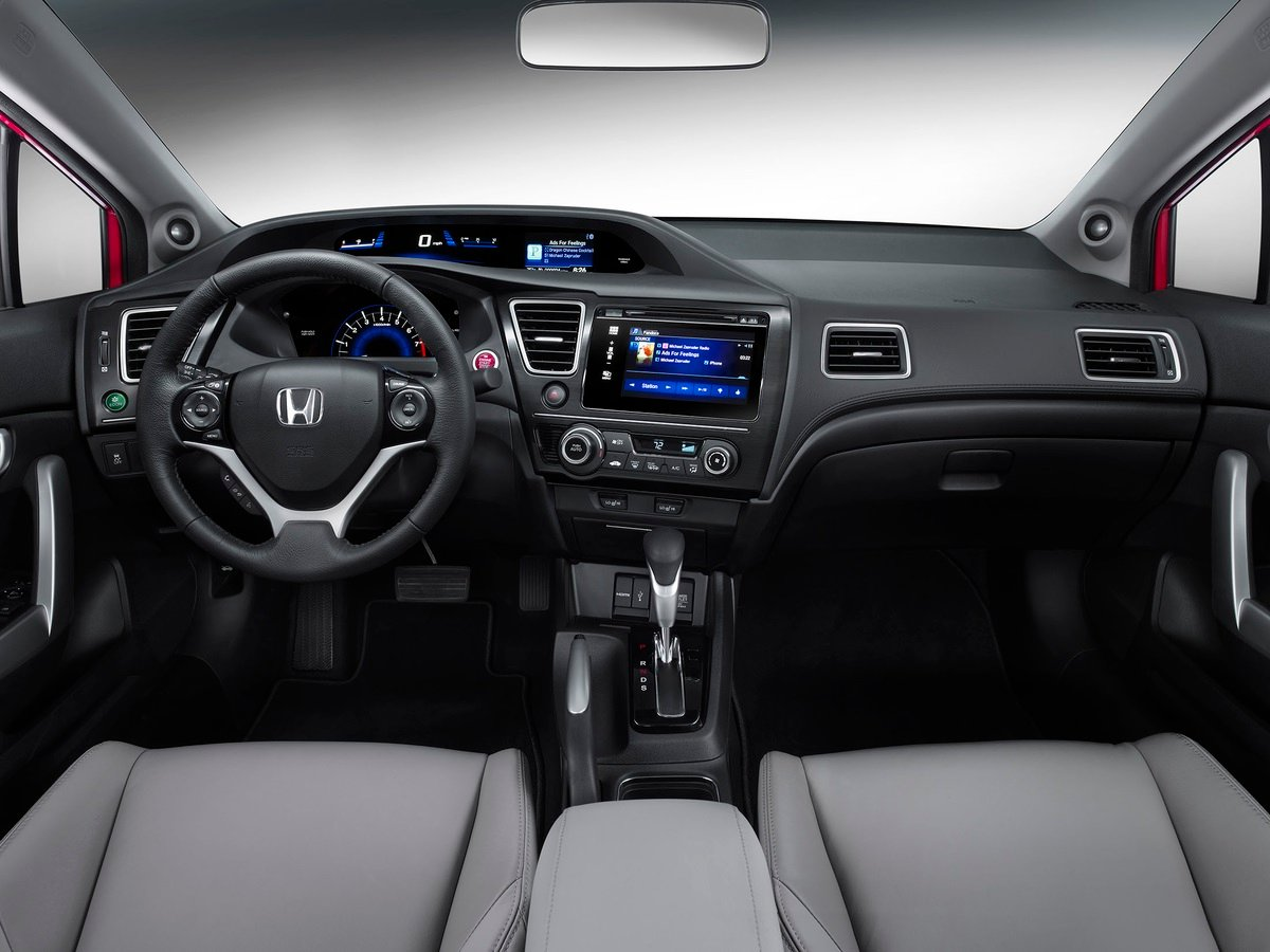 Awesome Interior Features. As Before, Honda Offers The 2014 Civic ...