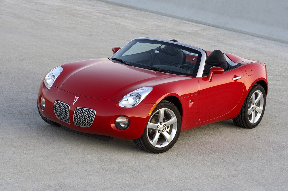 2006 2007 Pontiac Solstice When The Roadster