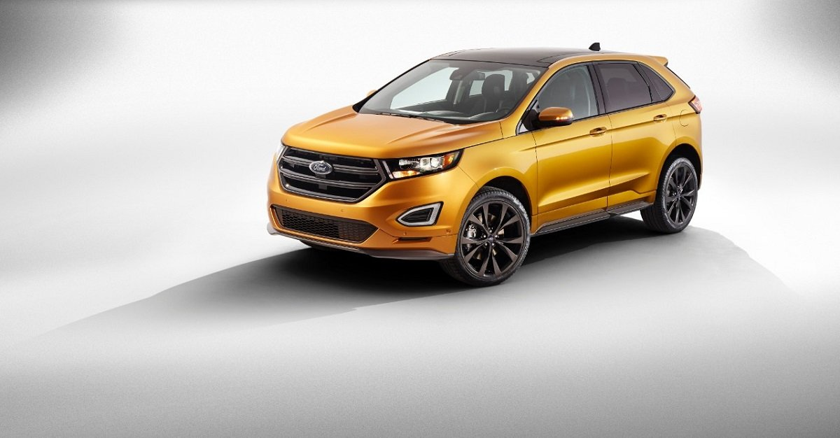 The  Ford Edge Is A Midsize  Passenger Crossover Suv That Ford Will Sell In Several Global Markets Vehicles Headed For The United States Will Be