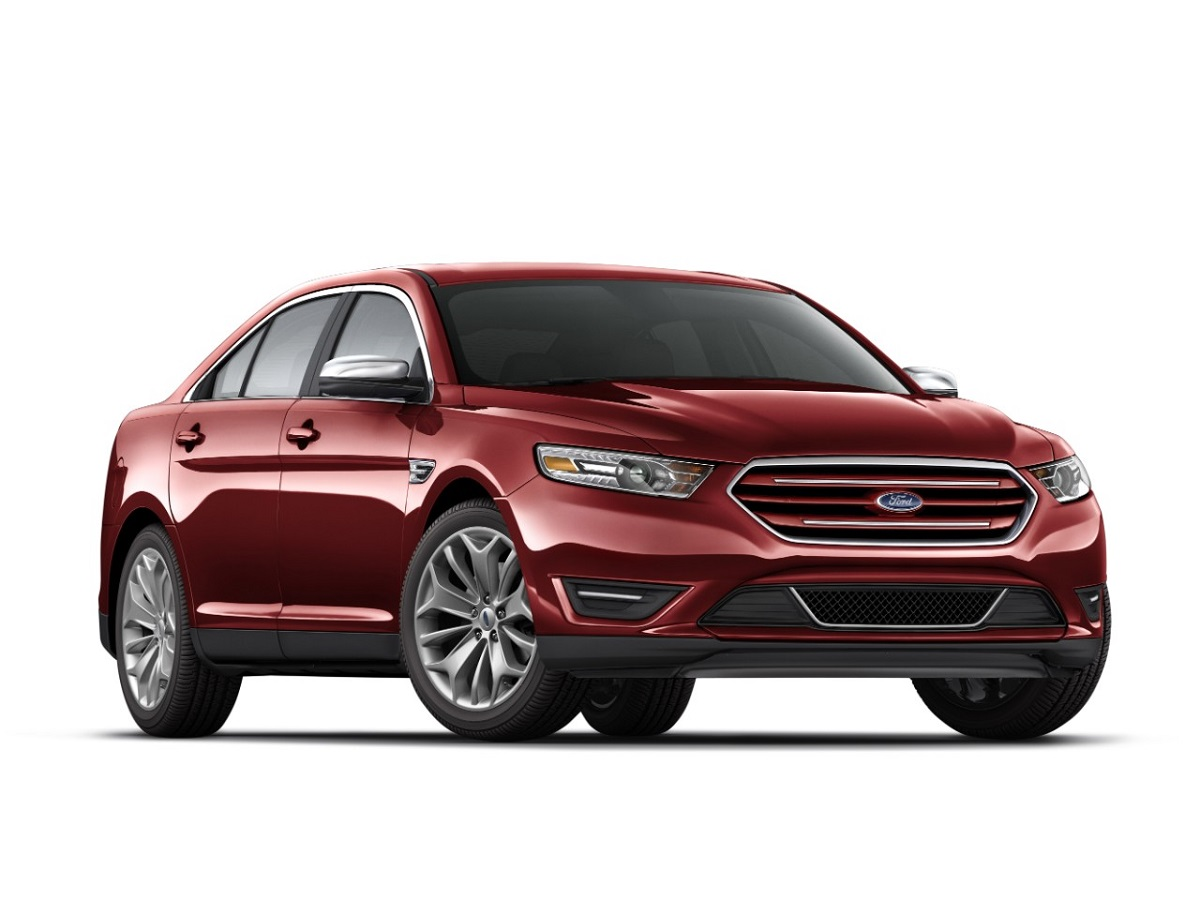 The 2015 ford taurus is a full size 4 door family sedan that the automaker claims is the most fuel efficient vehicle in its market segment aside from