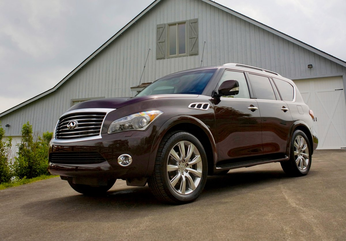 2013 Infiniti Qx56 Preview Nadaguides
