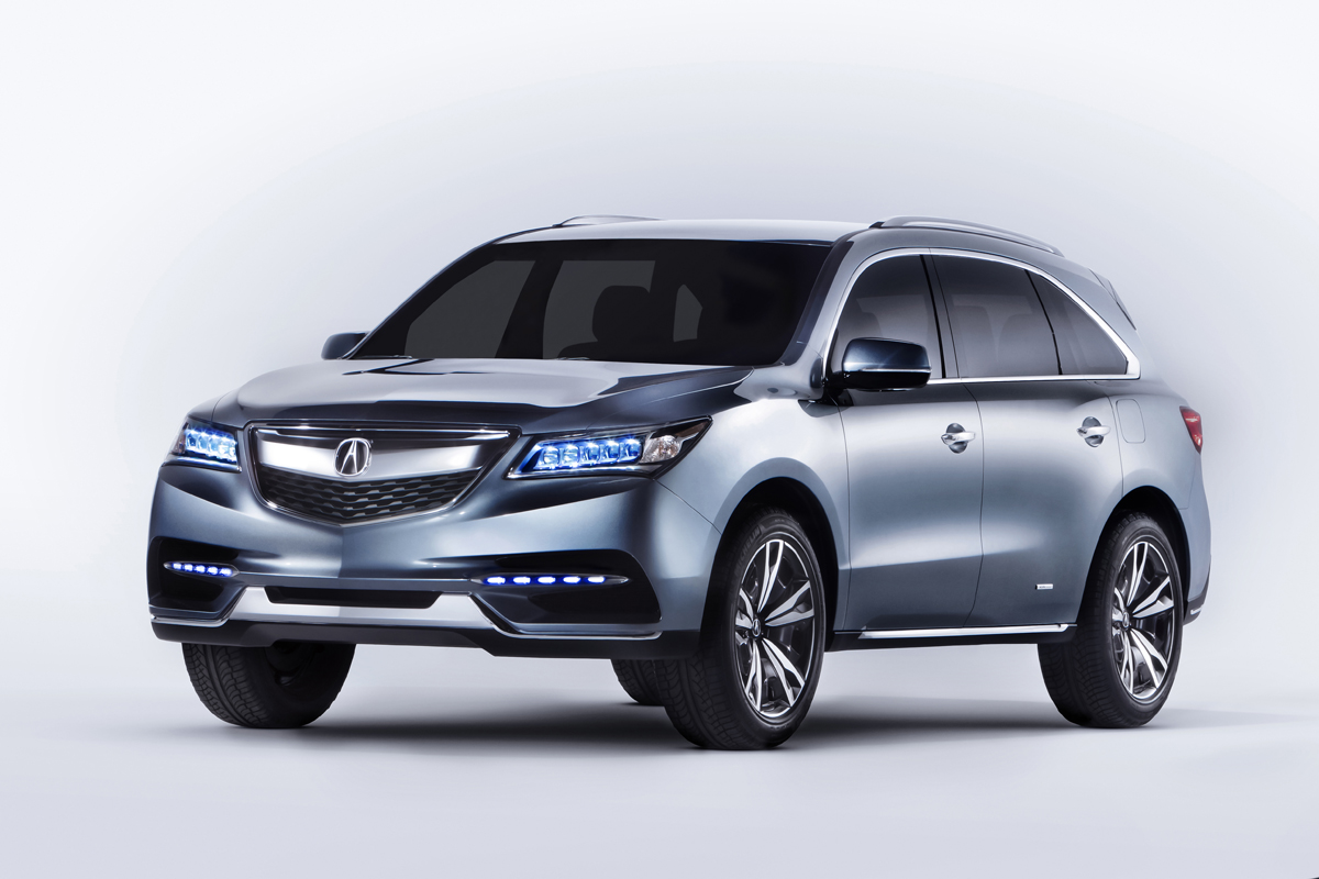 The 2017 Acura Mdx Is Third Generation Version Of Automaker S 7 Penger 3 Row Luxury Crossover Suv At North American International