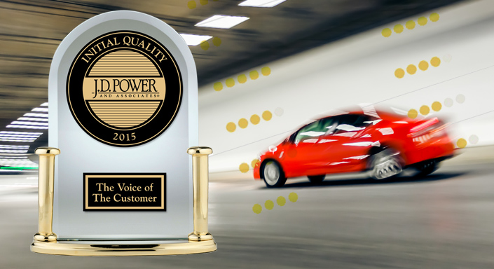 Jd Power Initial Quality Award >> Top Ranked Cars Trucks And Suvs In The J D Power 2015